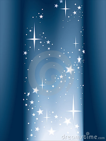 Free Light And Stars, Vector Royalty Free Stock Images - 3342539