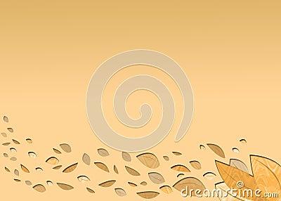 A light autumn background
