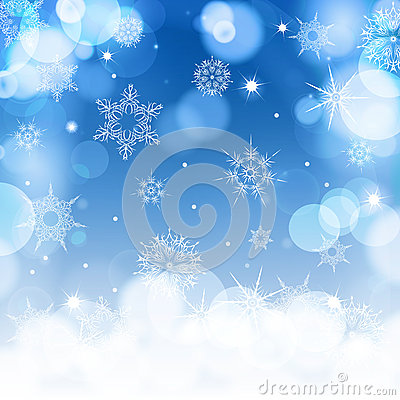 Free Light Blue Blur Background For Christmas With Royalty Free Stock Photos - 62810508