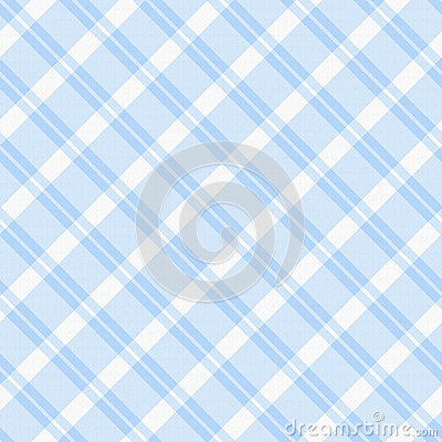 Light blue Plaid Fabric Background