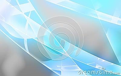Light blue shiny lines