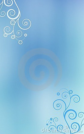 Light blue swirls background
