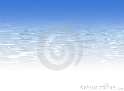 Light blue water background - crystal clear water