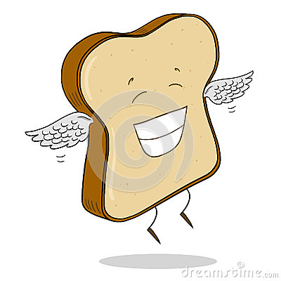 Free Light Bread Slice Illustration Stock Photo - 49608770