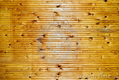 Light brown wainscoat wood panel