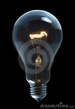 Free Light Bulb Royalty Free Stock Photography - 18921427