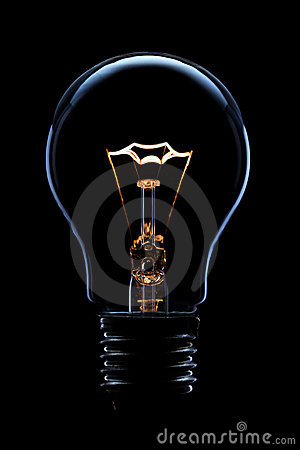 Free Light Bulb Royalty Free Stock Photos - 21698998