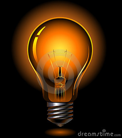 Free Light Bulb Royalty Free Stock Images - 8550069