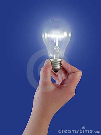 Free Light Bulb Concept Royalty Free Stock Photo - 83715