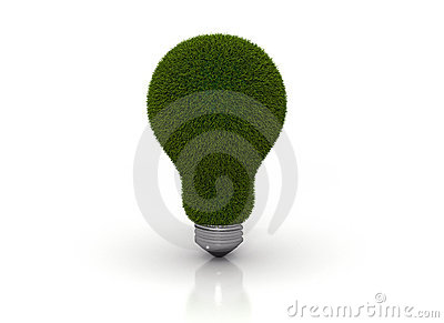 Light bulb eco energy