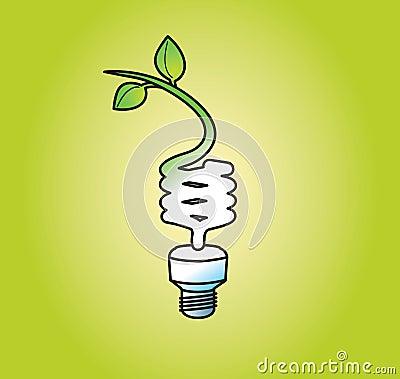 Light Bulb Going Green