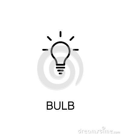 Free Light Bulb Icon Stock Photo - 86262160