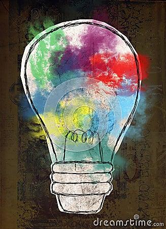 Free Light Bulb, Innovation, Ideas, Goals Stock Images - 86494374