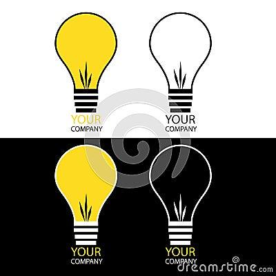 Light bulb logos