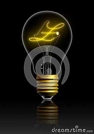 Light bulb money idea