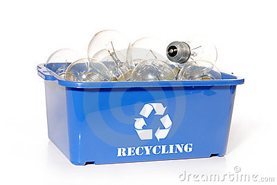 Light bulb recycling