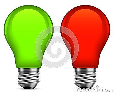 Light bulbs.