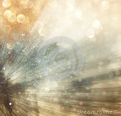 Free Light Burst Among Trees, Blurred Background With Movment. Abstract. Stock Images - 41764724
