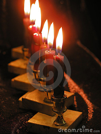 Light of candles
