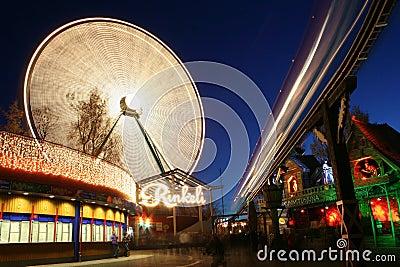 Light Carnival in Helsinki Editorial Photo
