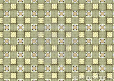 Light Chequered Tiles Pattern