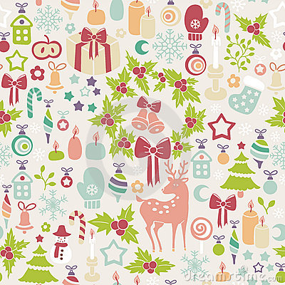 Free Light Christmas Background Stock Images - 21925664