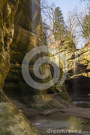 Free Light Coming Into The Canyon. Royalty Free Stock Photos - 69494758