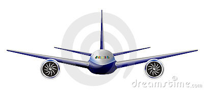 Light commercial jet plane
