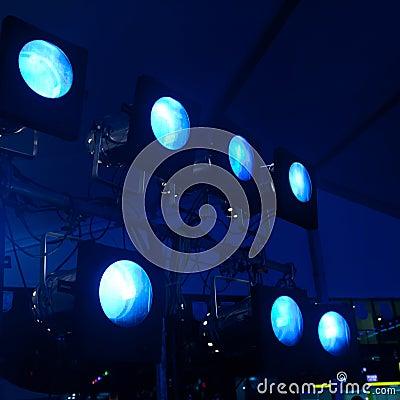 Light for concert