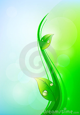 Light eco background
