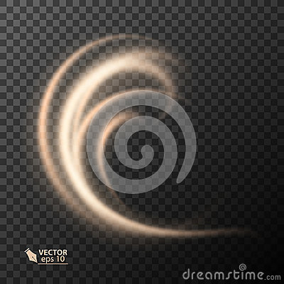 Free Light Effect Line Gold Vector Circle. Glowing Light Fire Ring Trace. Glitter Magic Sparkle Swirl Trail Effect On Royalty Free Stock Photos - 98535568