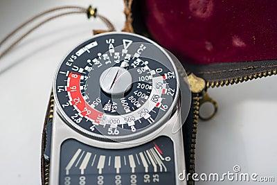 Vintage exposure meter