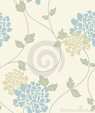 Free Light Floral Vintage Seamless Pattern Royalty Free Stock Images - 16357199