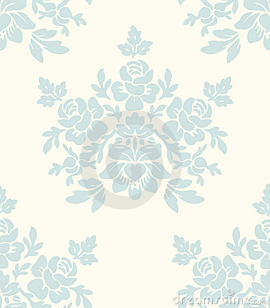 Free Light Floral Vintage Seamless Pattern Stock Photography - 16357342