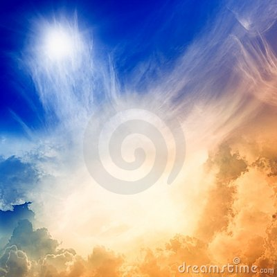 Free Light From Heaven Stock Photo - 17401970