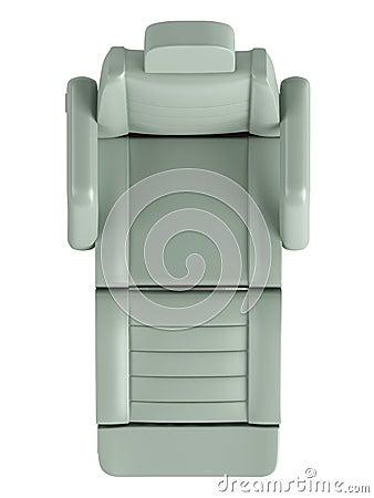 Light green beauty chair