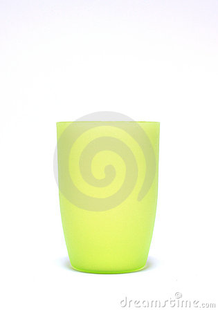Light green cup