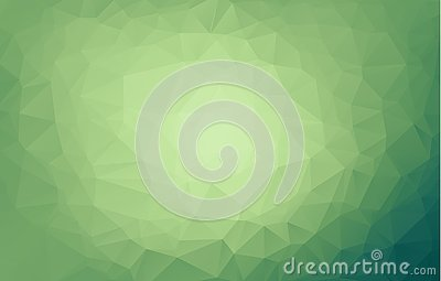 Light Green vector blurry triangle background. An elegant bright illustration with gradient. A completely new design for your busi Vector Illustration