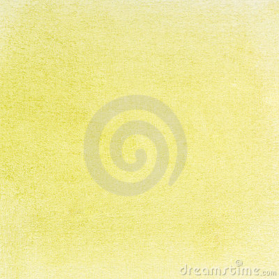 Light green yellow watercolor paper texture