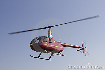Light helicopter Editorial Image