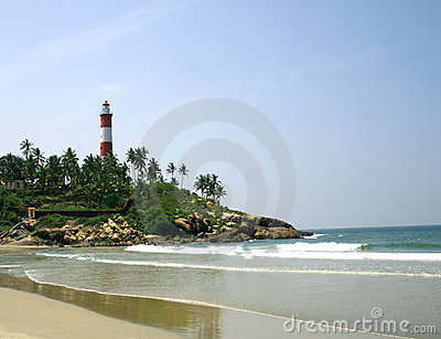 Light house at Kovalam