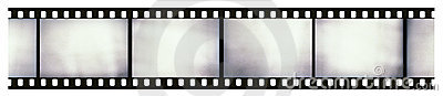 Light-leaked film strip