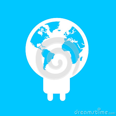 Light map of ECO World leaves idea