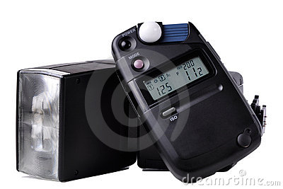 Light meter and Flash