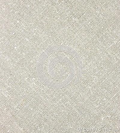 Light Natural Linen Diagonal Texture Macro Closeup