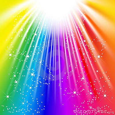 Free Light Of The Rainbow Stock Photography - 8477792