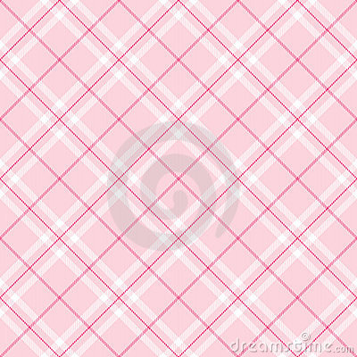 Free Light Pink Plaid Royalty Free Stock Photos - 7280118
