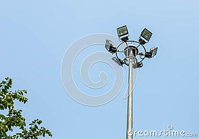 Light pole.