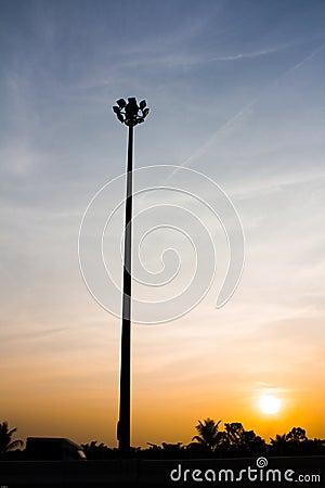Light pole to the Sun
