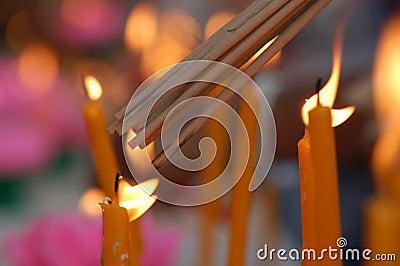 Light for prayer